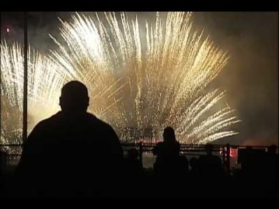 Fourth of July Fireworks Show Laurel, MT